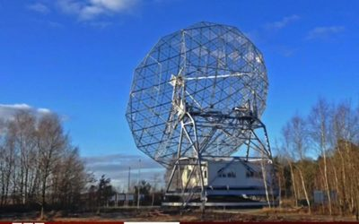 Dwingeloo radio telescope featured on BBC Click!