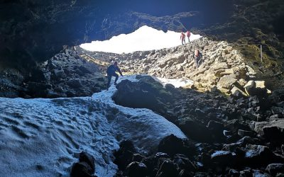 Exploring lava tubes to help future astronauts: We are joining CHILL-ICE!